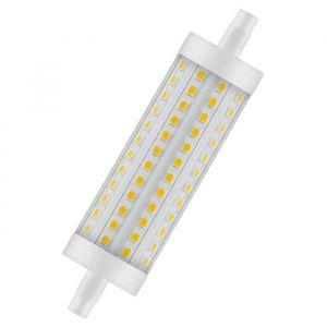 Osram Ampoule crayon LED 118 mm R7S 15 W équivalent a 125 W blanc chaud