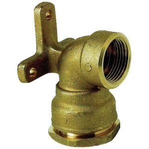 sferaco Applique serrage ext eau 16b laiton pe/ F 25 15x21