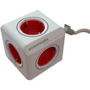 Allocacoc 16898 - PowerCube Extended adaptateur secteur 5 prises pour PC portable/tablette/smartphone