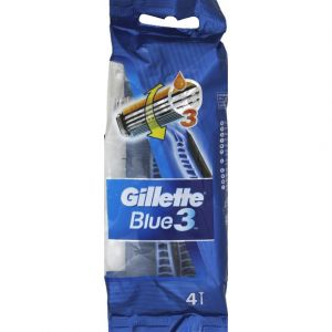 Gillette 4 Rasoirs jetables blue3