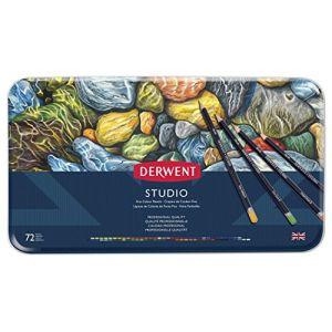 Derwent Studio Crayons de Couleur (Boîte de 72)