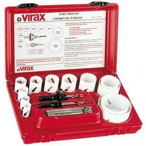 Virax 220906 - Scies cloches en coffret de 12 pièces