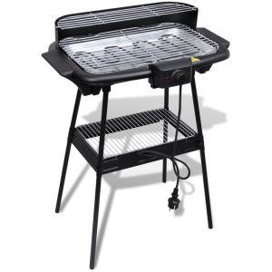 VidaXL 40977 - Barbecue grill électrique rectangulaire
