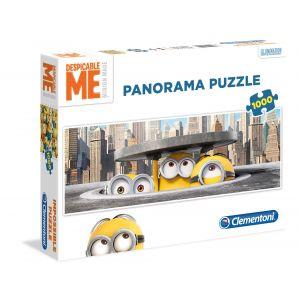 Clementoni Panorama puzzle Minions (1000 pièces)