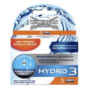 Wilkinson Hydro 3 - Lames de rasoir pour Homme - Pack de 5