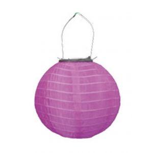 Blachère illumination Lampion solaire 20 cm - rose