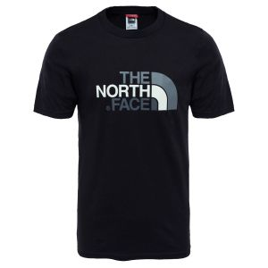 The North Face S/S Easy Tee - T-shirt taille M, noir