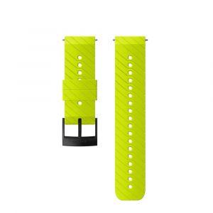 Suunto Pièces détachées Athletic 3 Silicone Strap - Lime / Black - Taille One Size