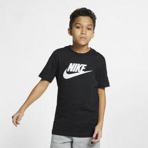 Nike Tee-shirt Sportswear pour Garçon plus âgé - Noir - Taille L - Male