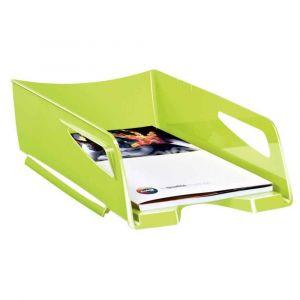 CEP Office Solutions Corbeille à courrier Maxi Gloss - 24 x 32 cm - L38,6 x H11,5 x P27 cm - anis