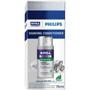 Philips HS800 - Recharge de crème de rasage hydratante Nivea For Men (75 ml)