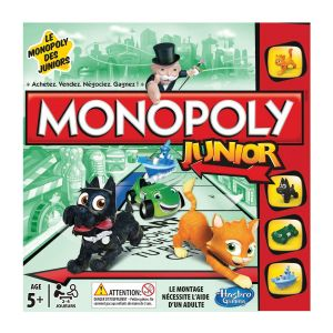 Hasbro Monopoly Junior Nouvelle Version