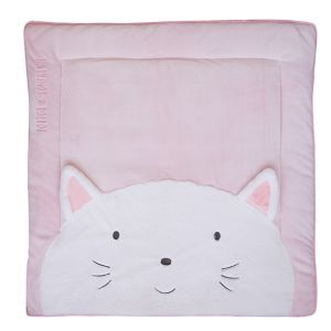 Doudou & cie Tapidou Chat rose