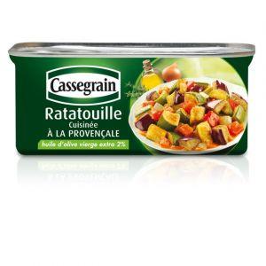 Cassegrain Ratatouille cuisinée à la provençale - La boîte de 185g