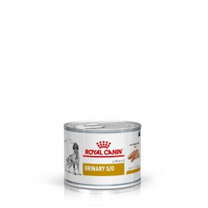 Royal Canin Boîtes Veterinary Diet Chien Urinary S/O Contenance : 12 boites de 200 g