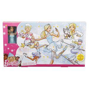 Mattel Calendrier de l'avent : Barbie