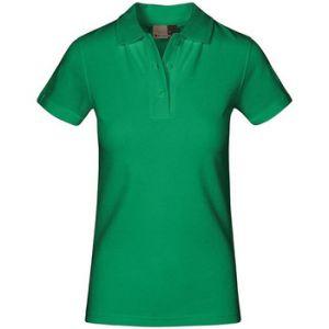 Promodoro Polo supérieur Femmes, XS, vert kelly