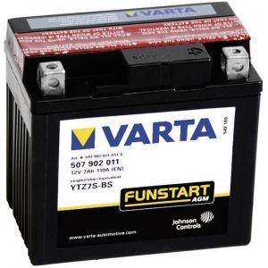 Varta Batterie de moto YTZ7S-4, YTZ7S-BS 12 V 5 Ah ETN 507902011