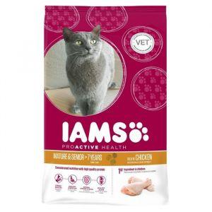IAMS Croquettes pour chat sénior 10 kg