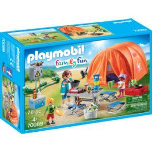Playmobil 70089 - Tente et campeurs Family Fun