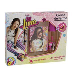 Corine de Farme Soy Luna - Coffret eau de toilette, carnet, stylo et stickers