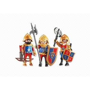 Playmobil 6379 Knights : 3 chevaliers du Lion impérial