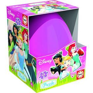 Educa Oeuf Princesses Disney - Puzzle 48 pièces