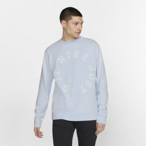Nike Haut en molleton Sportswear pour Homme - Bleu - Taille L - Male