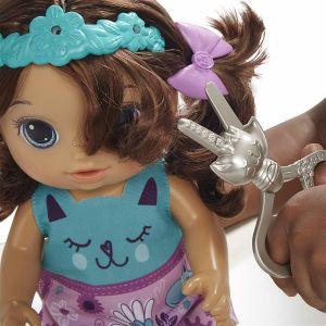 Hasbro Baby Alive Coiffure magique - poupée cheveux bruns