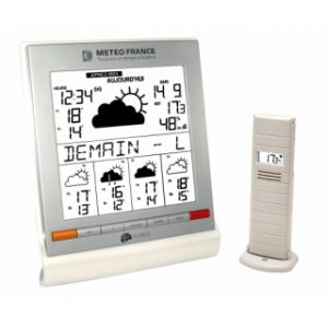 La Crosse Technology WD9541 - Station météo, température intérieure et extérieure avec prévision J+5