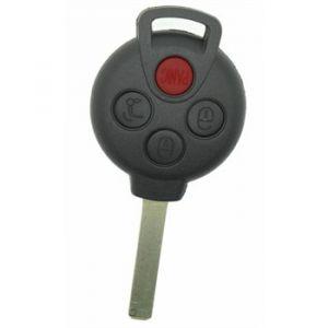 Neoriv Coque de clé télécommande adaptable + lame SMA40