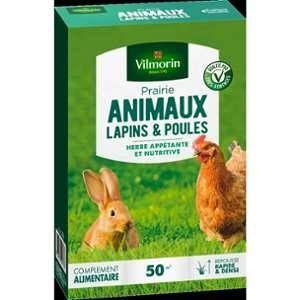 Vilmorin Prairie pour lapins et poules 500 g