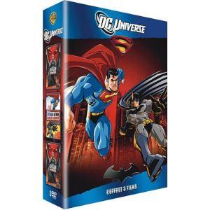 Coffret DC Universe - Superman/Batman : Apocalypse + Superman/Batman : ennemis publics + Batman et Red Hood : Sous le masque rouge