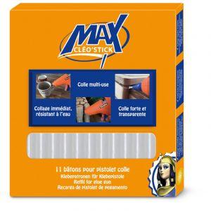 Cleopatre Bâton de colle Cléo'stick Max - tous supports - 11 pcs