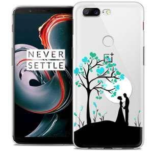 CaseInk Coque OnePlus 5T (6 ) Extra Fine Love Sous l'arbre