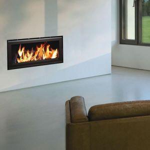 Termofoc C1000 - Insert à bois cadre en acier + Kit de ventilation pour insert C1000