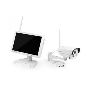 Technaxx TX-29 Premium Security - Kit de surveillance avec caméra IP extérieur et moniteur