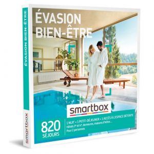 Smartbox Coffret cadeau Évasion bien-être