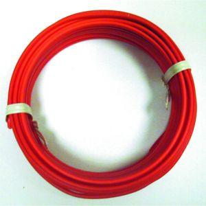 Câble HO7VU 1,5 mm2 100 ml rouge