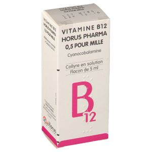 Horus Pharma Vitamine B12 - Collyre en solution