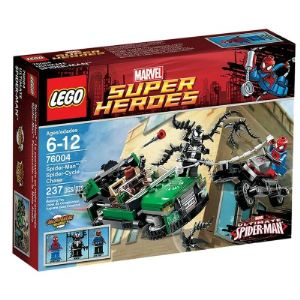 Lego 76004 - Super Heroes : Marvel Comics - Spiderman la poursuite en moto-araignée