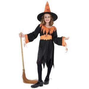 Déguisement sorcière pour fille Halloween (taille au choix)