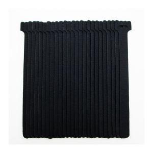 629165 - Jeu de 50 attaches cables scratch 21 cm