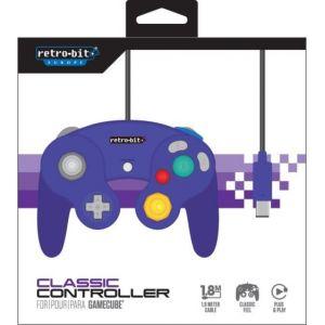 Retro-Bit Manette Gamecube Classique Violette