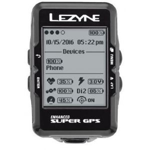 Lezyne GPS Super HRSC Loaded