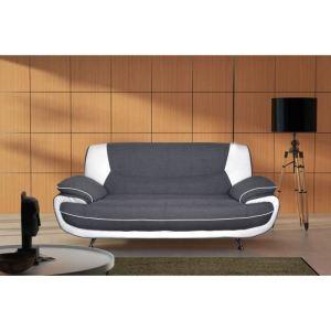 Canapé d'angle droit Spacio 3 places en tissu