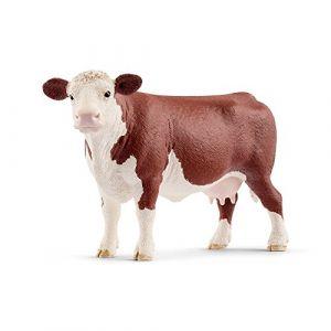 Schleich Figurine Vache Hereford, 13867