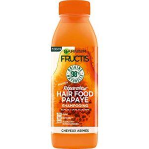 Garnier Fructis - Hair Food Papaye - Shampooing Réparateur à la Papaye (Cheveux Abîmés) - 350 ml