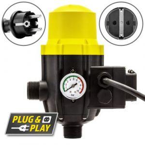 Trotec Pressostat électronique TDP DSP commande de pompe à eau avec prise électrique intégrée
