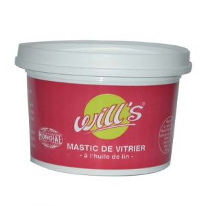 Ciron MASTIC ACAJOU DE VITRIER POT 1 KG - DELZONGLE